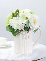 Недорогие -Искусственные Цветы 1 Филиал Классический европейский / Свадебные цветы Фрукты / Камелия Букеты на стол