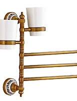 cheap -Towel Bar Multifunction Antique Brass 1pc Double Wall Mounted