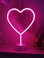 economico -1 set LOVE Night Light LED Colori primari Batterie AA alimentate Creativo / Matrimonio / Sicurezza Batteria / <5 V
