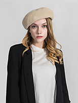 cheap -Women's Basic Beret Hat - Solid Colored