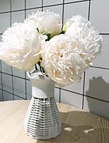 Недорогие -Искусственные Цветы 5 Филиал Классический Модерн / европейский Пионы Букеты на стол