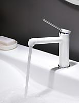 abordables -Robinet lavabo - Design nouveau Peintures Montage Mitigeur un trou