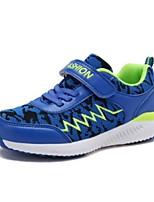 baratos -Para Meninos Sapatos Com Transparência Primavera & Outono Conforto Tênis Caminhada Cadarço para Infantil / Adolescente Cinzento / Vermelho / Azul