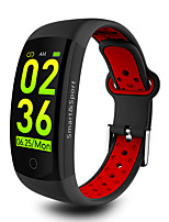 cheap -Smart Bracelet Smartwatch Q6S for Android Bluetooth Sports Waterproof Heart Rate Monitor Blood Pressure Measurement Touch Screen Stopwatch Pedometer Call Reminder Activity Tracker / Calories Burned