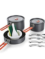 Недорогие -3 Fire-Maple Походная кастрюля Походная сковорода Походная кастрюля и сковорода Горшок Filler Легкость Мини Катание вне трассы ПВХ (поливинилхлорида) Твердый алюминий Нержавеющая сталь