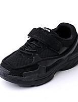 Недорогие -Мальчики Обувь Сетка Наступила зима Удобная обувь Кеды Для прогулок Пряжки для Дети Белый / Черный / Красный