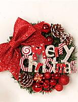 Недорогие -Рождество Праздник PVC Круглый Оригинальные Рождественские украшения