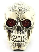 Недорогие -Праздничные украшения Украшения для Хэллоуина Хэллоуин Развлекательный / Декоративные объекты Декоративная Белый 1шт