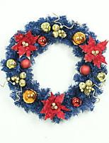 Недорогие -Гирлянды Праздник пластик Круглый Оригинальные Рождественские украшения