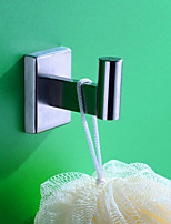 Недорогие -Крючок для халата Новый дизайн Modern Нержавеющая сталь 1шт - Ванная комната На стену