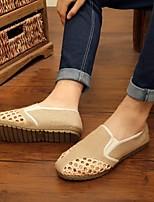 cheap -Men's Espadrilles Linen Spring / Summer Chinoiserie Loafers & Slip-Ons Beige / Dark Blue / Khaki