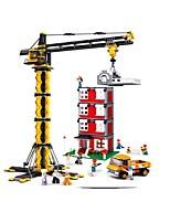 Недорогие -Sluban Конструкторы 1461 pcs Фокусная игрушка Декомпрессионные игрушки Все Мальчики Девочки Игрушки Подарок