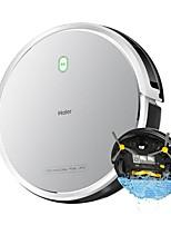 abordables -Haier Aspirateurs Robotiques Nettoyeur T510S Mouillage humide et sec Rechargement automatique Plan de nettoyage des horaires Wi-Fi Lavage Automatique Spot Cleaning