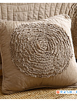 cheap -1 pcs Cotton Pillow Cover / Pillow Insert / Throws, Solid Colored / Pattern Patterned