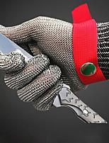 Недорогие -1шт Нержавеющая сталь Защитные перчатки Безопасность и защита Износостойкий