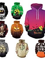 abordables -Homme Poche Hoodie Jacket - Gris, Noir / Orange., Kaki Des sports Halloween Hauts / Top Course / Running, Fitness, Gymnastique Manches Longues Tenues de Sport Pare-vent, Design Anatomique, Doux
