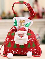 Недорогие -Подарочные мешки Новогодняя тематика Нетканый материал Квадратный Оригинальные Рождественские украшения
