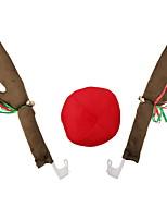 baratos -Ornamentos Desenho Tecido Desenho Animado Decoração de Natal