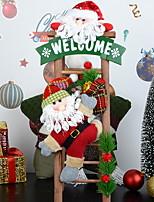 baratos -Enfeites de Natal Natal / Férias PVC Cubo Novidades Decoração de Natal
