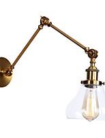 billiga -Ministil / Ny Design Enkel / Retro / vintage Swing Arm Lights Vardagsrum / affärer / caféer Metall vägg~~POS=TRUNC 110-120V / 220-240V