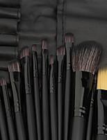 billiga -32pcs Makeupborstar Professionell Rougeborste / Ögonskuggsborste / Läppensel Fullständig Täckning Plast