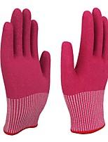 Недорогие -1 пара Полиэтилен Защитные перчатки Защита Безопасность и защита Противоскользящий Износостойкий