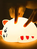 cheap -1pc LED Night Light USB New Design / Color-Changing / Adorable <=36 V