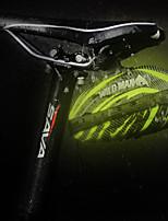 baratos -Bolsa para Bagageiro de Bicicleta Reflector, Á Prova-de-Chuva, Zíper á Prova-de-Água Bolsa de Bicicleta PU Leather / EVA Bolsa de Bicicleta Bolsa de Ciclismo Ciclismo Moto