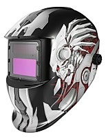 baratos -1pç PP ABS Máscara de solda soldagem / Escurecimento automático / Segurança Máscaras Faciais