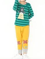 Недорогие -Дети (1-4 лет) Мальчики Мультипликация Длинный рукав Набор одежды