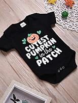 abordables -bébé Fille Imprimé Manches courtes Le maillot de corps