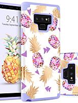 Недорогие -Кейс для Назначение SSamsung Galaxy Note 9 Защита от удара / С узором Кейс на заднюю панель Фрукты Твердый ПК для Note 9
