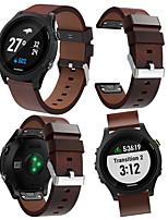 Недорогие -Ремешок для часов для Garmin Quatix 5 / Garmin Quatix 5 Sapphire / Forerunner 935 Garmin Спортивный ремешок Кожа Повязка на запястье