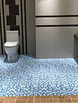 Недорогие -1шт Modern Коврики для ванны 100 г / м2 полиэфирный стреч-трикотаж В клетку нерегулярный Новый дизайн