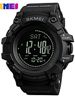 cheap -SKMEI Men's Sport Watch Digital Watch Digital 30 m Water Resistant / Water Proof Bluetooth Calendar / date / day Silicone Band Digital Casual Black / Blue / Red - Red Green Blue / Chronograph