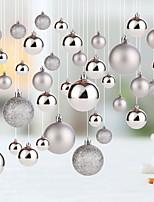 abordables -Décorations de vacances Vacances & Voeux / Décorations de Noël Noël / Objets décoratifs Soirée / Adorable Argent 20pcs