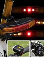 baratos -Luz do chifre da bicicleta LED Luzes de Bicicleta Ciclismo Impermeável, Durável AA 150 lm Branco / Vermelho Ciclismo
