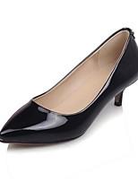 abordables -Femme Chaussures de confort Cuir Verni Eté Chaussures à Talons Talon Aiguille Noir / Rouge / Rose