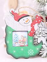 Недорогие -Орнаменты Новогодняя тематика деревянный Оригинальные Рождественские украшения