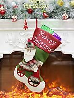 Недорогие -Чулки / Сумка Мультяшная тематика пластик Мультфильм игрушки Рождественские украшения