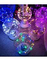 Недорогие -1pc e26 / e27 светодиодные шарики с шариками 20 светодиодных шариков декоративные звездные 85-265v романтическая лампа атмосферы