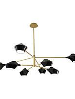Недорогие -ZHISHU 8-Light Оригинальные Люстры и лампы Потолочный светильник Окрашенные отделки Металл Мини 110-120Вольт / 220-240Вольт Лампочки не включены