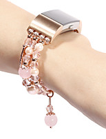 abordables -Bracelet de Montre  pour Fitbit Charge 2 Fitbit Design de bijoux Céramique Sangle de Poignet
