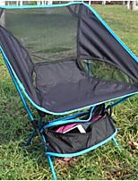 cheap -Jungle King Camping Stool Outdoor Folding Aluminium alloy for Fishing - 1 person Blue