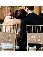 abordables -Déco de Mariage Unique Tissu Denim Décorations de Mariage Mariage / Fiançailles Thème plage / Thème jardin / Mariage Toutes les Saisons