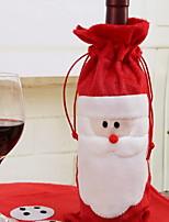 economico -Sacche e borse porta-vino Natale / Vacanza Tessuto Rettangolare Feste / Originale Decorazione natalizia
