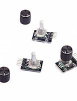 baratos -Módulo giratório do codificador 3pcs com o tampão do botão para o arduino