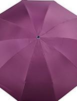 Недорогие -Ткань Все Солнечный и дождливой Складные зонты