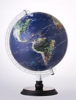 Недорогие -12-дюймовый глобус для детей и учителей - более 4 000 именных мест - отличная цветная и уникальная конструкция - современный мировой мир - с подставкой