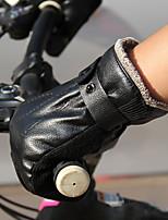 Недорогие -Полныйпалец Муж. Мотоцикл перчатки Кожа Сохраняет тепло
